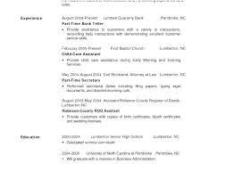 Entry Level Bank Teller Resume Bank Teller Sample Resume Free Bank