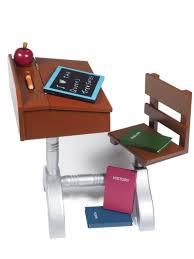 girls desk furniture. 1930 Style School Desk For 18in Dolls Like American Girl Girls Furniture E