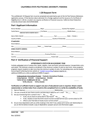 Top 13 I-20 Form Templates Free To Download In Pdf Format