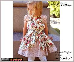 Toddler Dress Patterns Mesmerizing Alexandra PEASANT DRESS PATTERN Free MotherDaughter Apron