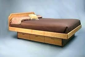 pedestal bed frame. Wonderful Pedestal Pedestal Bed Frame Build Wooden Platform Frames With Drawers California King Intended D