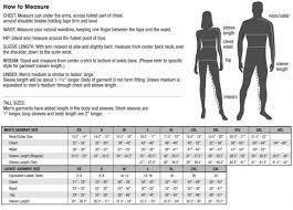 Harriton Size Chart Size Chart Harriton