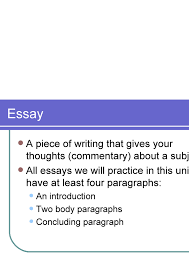 multiparagraph essay terminology multiparagraph essay terminology 2 essay