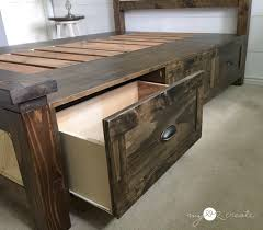 farmhouse storage bed. Delighful Storage Pulled Out Drawer On Farmhouse Storage Bed Intended Farmhouse Storage Bed R