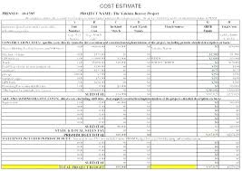 Commercial Construction Budget Template Free Concrete Estimate Excel Template Concrete Estimate