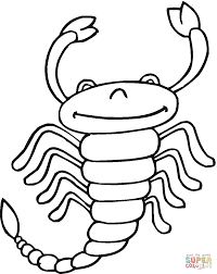 Small Picture Scorpion 13 coloring page Free Printable Coloring Pages