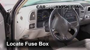 interior fuse box location 1992 1999 chevrolet tahoe 1999 interior fuse box location 1992 1999 chevrolet tahoe 1999 chevrolet tahoe 5 7l v8