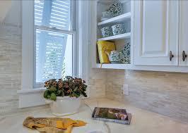 Artistu0027s Dream Becomes A Design Reality  Kitchen U0026 Bath Design Coastal Kitchen Backsplash Ideas