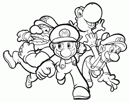 Small Picture Video Games Coloring Pages Coloring Home