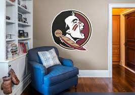 florida state seminoles logo wall decal fathead for