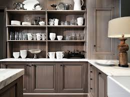 Gray Colored Kitchen Cabinets