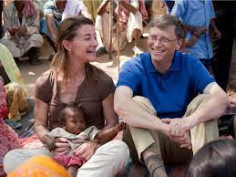 A Poor Woman Asked Melinda Gates to Adopt and Raise Her 2 Children