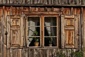 Details Zu Wandbild Fenster Fototapete Poster Holz Alt Alpen Rustikal Laden Urlaub Wa375