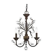 graceful mini chandelier string lights