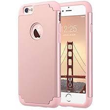 apple iphone 6s rose gold. iphone 6s case,iphone 6 case, ulak slim dual layer soft silicone \u0026 hard apple iphone 6s rose gold e