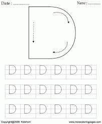 block letter dot d
