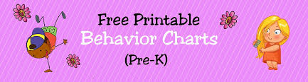 Free Printable Behavior Charts For Teachers Students Pre