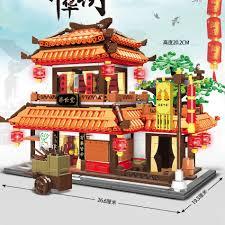Bộ Đồ Chơi Lego Xếp Hình Tòa Nhà Thành Phố Cho Bé