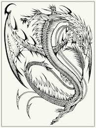 Wonderful Real Dragon Coloring Pages Gallery Professional Resume