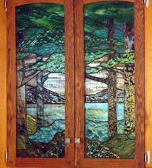 stained glass cabinet door patterns gallery doors design modern