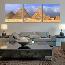 large wall art panoramic view of egyptian pyramids canvas print mygreatcanvas com extra large wall art wall art print large world map canvas print