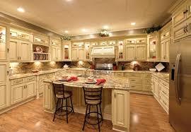 antique white themed kitchen