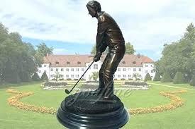 golf garden statues golf garden statues leisurely life size outdoor bronze golf garden statues golf themed golf garden statues