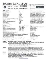 Curriculum Vitae Mix 93 1 Springfield Career Focus For Resume