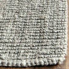 casual natural fiber hand woven light grey chunky jute rug australia wool and loop
