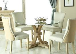 round glass dining set glass dining table set 4 chairs india
