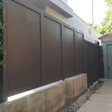 photo of metal garage doors gates and fences tarzana ca united states
