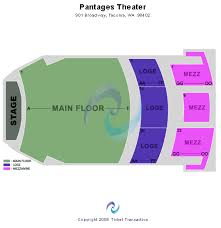 Pantages Theatre Tacoma Tickets Pantages Theatre Tacoma