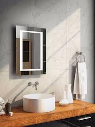Aurora Tall Super Bright LED Bathroom Mirror