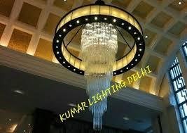 modern and tradional acrylic and iron big chandelier