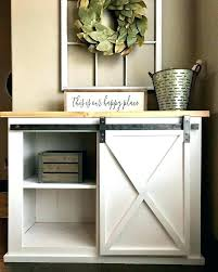 barn door console table with doors best ideas on stand sliding throughout tv