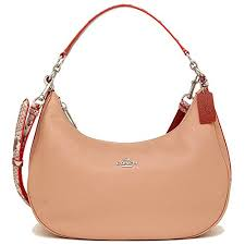 COACH EAST WEST HARLEY HOBO IN POLISHED PEBBLE LEATHER WITH PYTHON ...