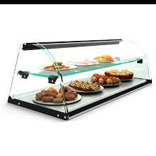 2 layer glass non refrigerated display cabinet e24 countertop bakery display cases igoodcake