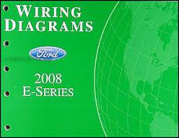 2008 ford econoline van club wagon wiring diagram manual original