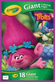 Small Picture DreamWorks Trolls Giant Coloring Pages ToysRUs
