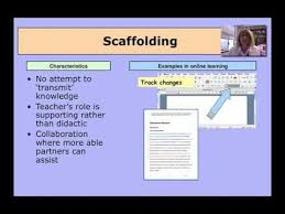 Scaffolding Definition Vygotsky Elements Of Authentic Learning Scaffolding