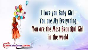 I Love You Baby Quotes New I Love You Baby Girl You Are My Everything You Are The Most