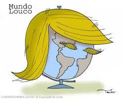 Resultado de imagem para trump caricatura