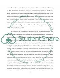 essay on intellectual disability assignment example topics and essay on intellectual disability essay example