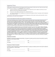 Business Service Agreement Template - Drpools.us