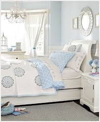 love the colors of this room. light or pale blue, white and cream bedroom.  light and airy bedroom. soft and inviting room. airy and inviting for guest  ...