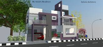 amazing small house plans by architects in coimbatore
