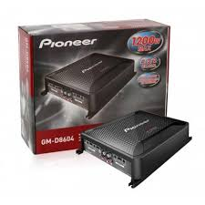 pioneer 300 watt amp. pioneer gm-d8604 300 watt amp