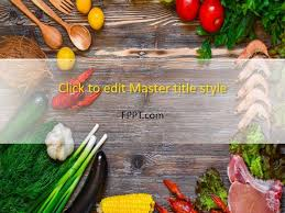 Free Food Powerpoint Templates Free Chef Gourmet Powerpoint Template Free Powerpoint