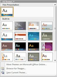 Theme For Powerpoint 2007 The Evolution Of Office Themes