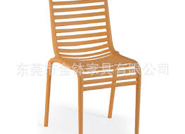 simple outdoor chair design. Molded PP Plastic Chair Backrest Hollow Simple Outdoor Hotel Design